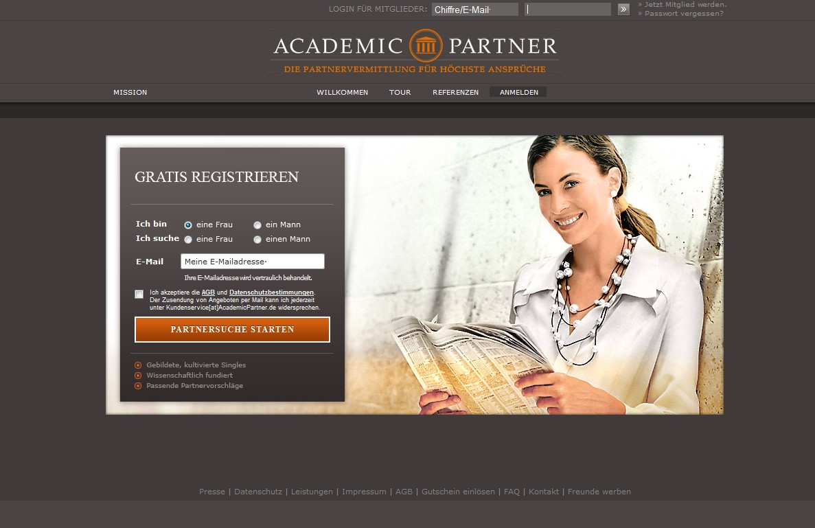 Kostenlose partnervermittlungen im test